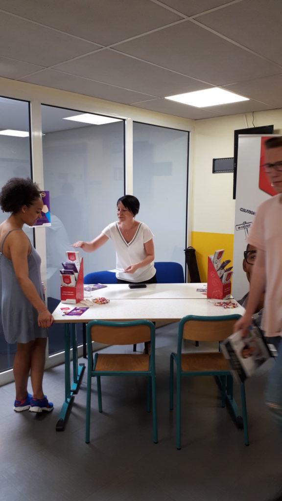 Action logement au Job Dating Ecoris